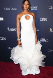 Naomi Campbell at Clive Davis' 2020 Pre-Grammy Gala in Los Angeles
