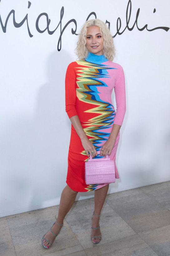Pixie Lott at Schiaparelli Fashion Show at Paris Fashion Week