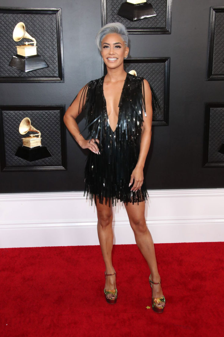 Sibley Scoles at 62nd Annual Grammy Awards in Los Angeles