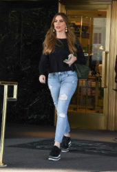 Sofia Vergara Leaving Saks fifth avenue in Beverly Hills