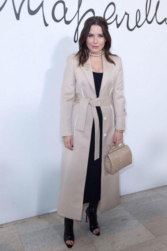 Sophia Bush at Schiaparelli Fashion Show at Paris Fashion Week