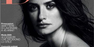 Penelope Cruz in D la Repubblica Magazine, January 2020