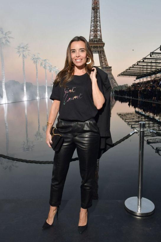 Élodie Bouchez at Saint Laurent's Paris Fashion Week