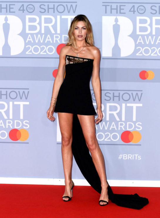 Abbey Clancy at BRIT Awards 2020 in London