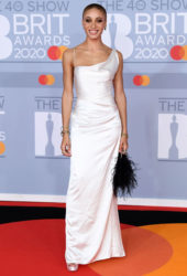 Adwoa Aboah at BRIT Awards 2020 in London