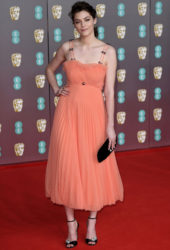 Amber Anderson at EE British Academy Film Awards 2020 in London