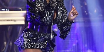Ashanti Performs at Eventim Apollo in London