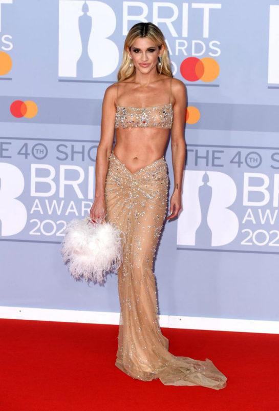 Ashley Roberts at BRIT Awards 2020 in London