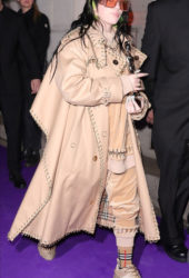 Billie Eilish Arrive at the Sony BRIT Awards 2020 After-Party