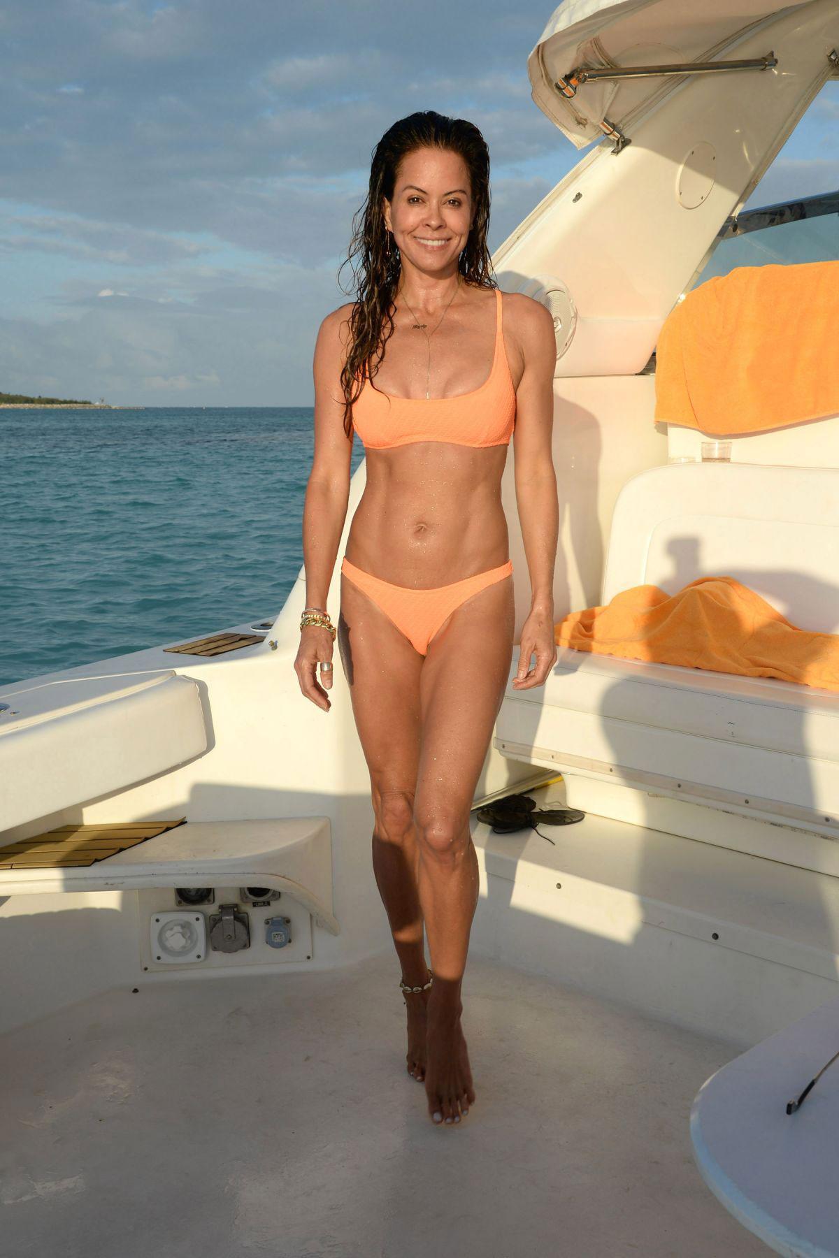 brooke burke in a bikini