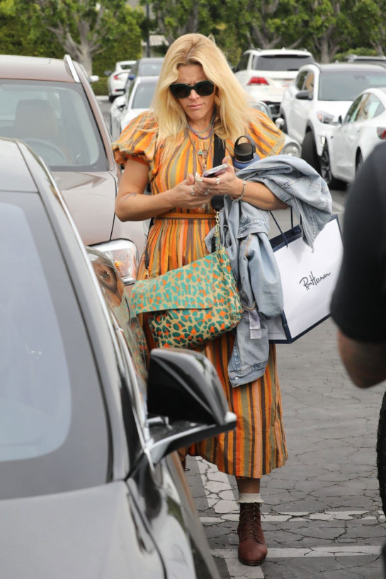 Busy Philipps out shopping in West Hollywood