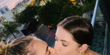 Cara Delevingne and Ashley Benson Share Valentine's Day Kiss - Instagram photo