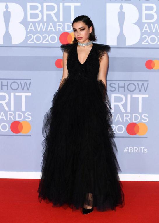 Charli XCX at BRIT Awards 2020 in London