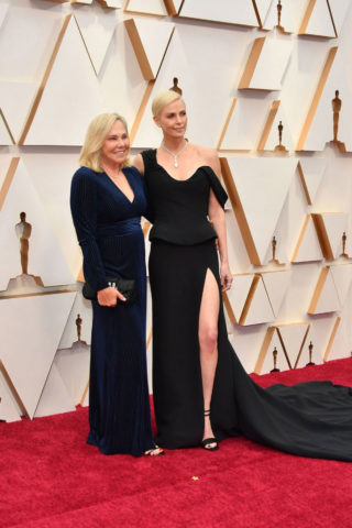Charlize Theron at 2020 Oscars in Los Angeles