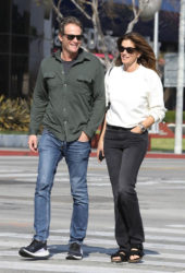 Cindy Crawford and Rande Gerber Out in West Hollywood