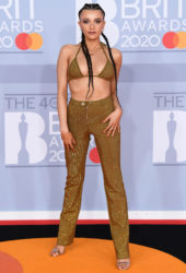 Daisy Maskell at BRIT Awards 2020 in London