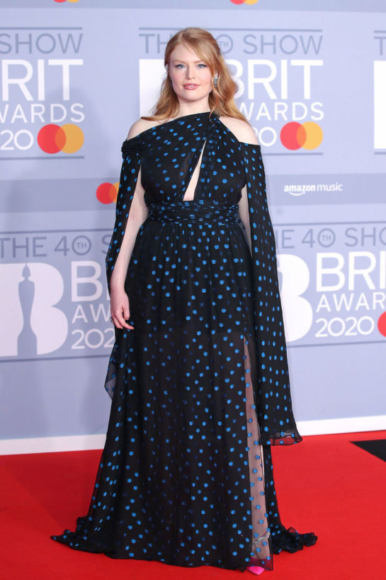 Freya Ridings at BRIT Awards 2020 in London