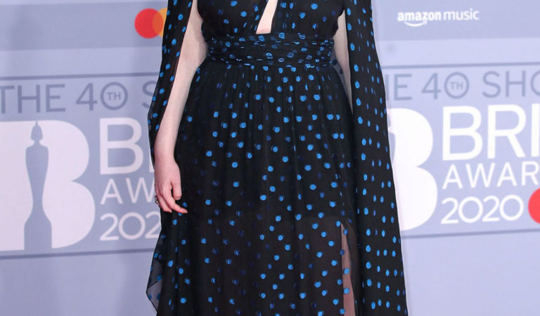 Red Carpet – Freya Ridings at BRIT Awards 2020 in London
