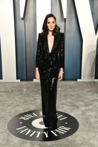 Gal Gadot at 2020 Vanity Fair Oscar Party in Beverly Hills