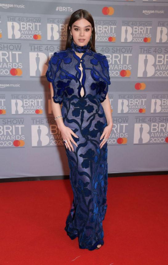 Hailee Steinfeld at BRIT Awards 2020 in London