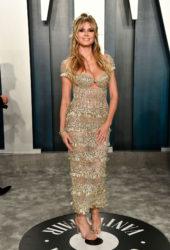Heidi Klum at 2020 Vanity Fair Oscar Party in Beverly Hills