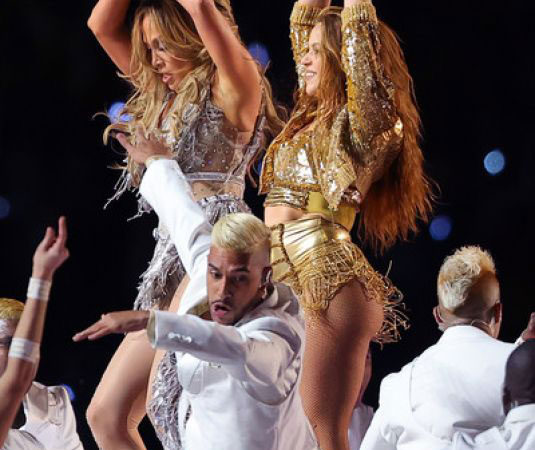 Celebrity Concert – Jennifer Lopez and Shakira Performs at Super Bowl LIV Halftime Show in Miami