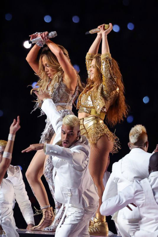 Jennifer Lopez and Shakira Performs at Super Bowl LIV Halftime Show in Miami