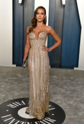 Jessica Alba at 2020 Vanity Fair Oscar Party in Beverly Hills