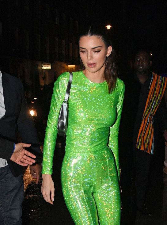 Kendall Jenner Arrive at the Sony BRIT Awards 2020 After-Party
