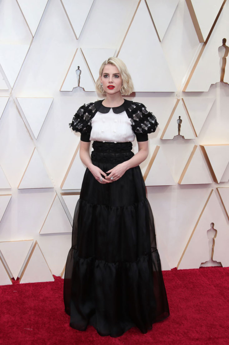Lucy Boynton at 2020 Oscars in Los Angeles