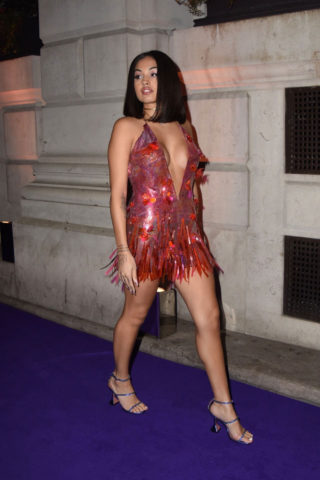 Mabel Arrive at the Sony BRIT Awards 2020 After-Party