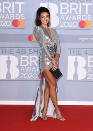 Michelle Keegan at BRIT Awards 2020 in London