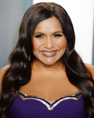 Mindy Kaling at 2020 Vanity Fair Oscar Party in Beverly Hills