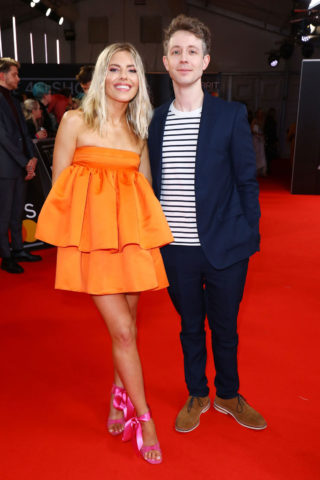 Mollie King at BRIT Awards 2020 in London
