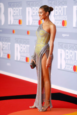 Montana Brown at BRIT Awards 2020 in London