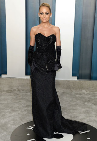 Nicole Richie at 2020 Vanity Fair Oscar Party in Beverly Hills