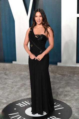 Olivia Munn at 2020 Vanity Fair Oscar Party in Beverly Hills