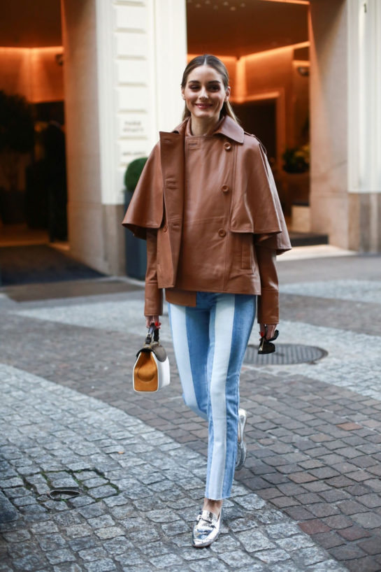 Olivia Palermo Out and About in Milan