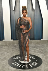 Pregnant Ciara at 2020 Vanity Fair Oscar Party in Beverly Hills