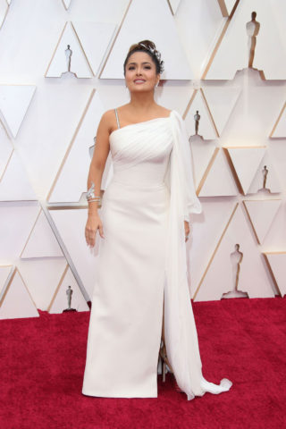 Salma Hayek at 2020 Oscars in Los Angeles