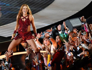 Shakira's Performs During Super Bowl halftime performance