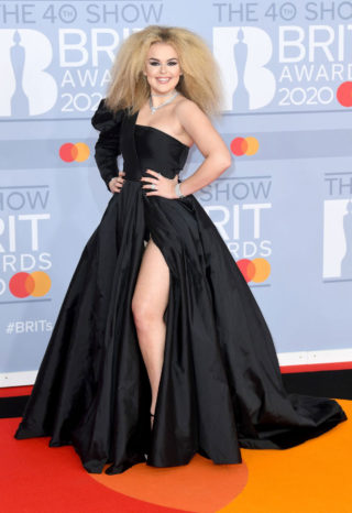 Tallia Storm at BRIT Awards 2020 in London