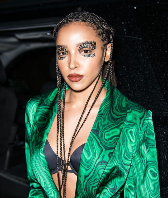 Tinashe at Helmut Lang and Libertine Fashion Show in New York