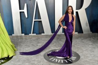 Vanessa Hudgens at 2020 Vanity Fair Oscar Party in Beverly Hills