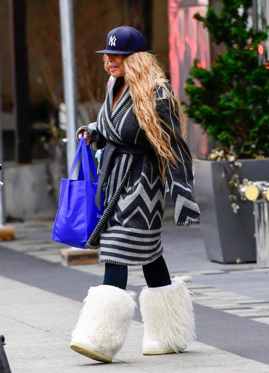 Wendy Williams Out Shopping in New York