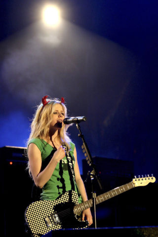 Avril Lavigne Performs at A Big Rock Day in Bangkok