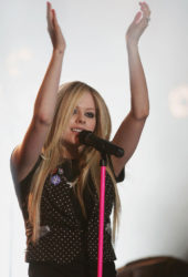 Avril Lavigne at MTV Live Concert in Paris