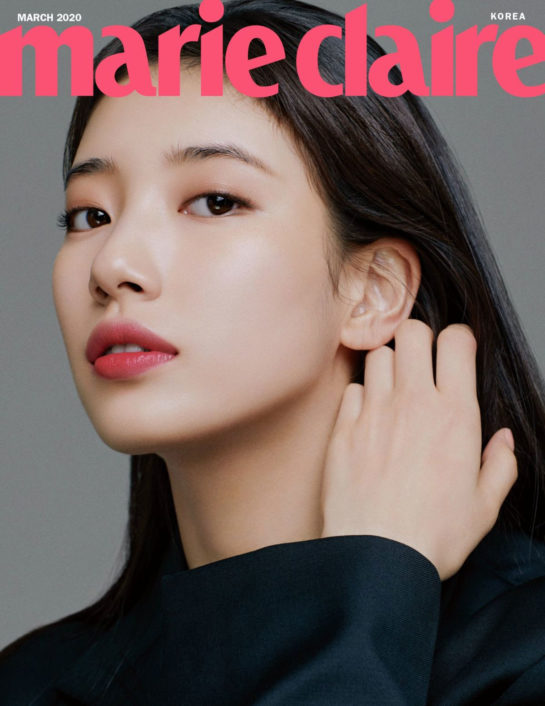 Bae Suzy in Marie Claire Magazine, March 2020