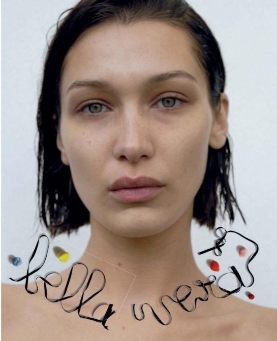 Bella Hadid for Vogue Italia March 2020