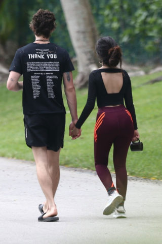 Camila Cabello and Shawn Mendes Arrives Out in Miami